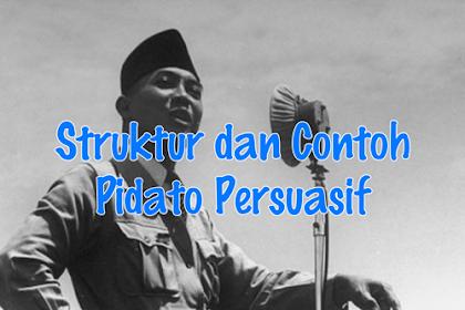 Struktur dan Contoh Pidato Persuasif : Materi Bahasa Indonesia