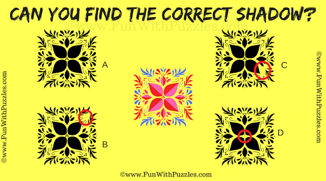 Answer of Picture Puzzle to Improve Observation Skill