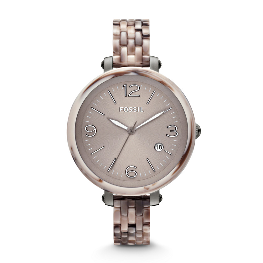 USA Boutique: FOSSIL Heather Resin Watch – Alpine Horn