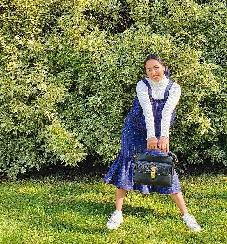 Uniform Upcycling: How I Turn this Old Winter School Uniform into a Dress