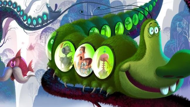 """Genndy Tartakovsky Can You Imagine? concept art animatedfilmreviews.filminspector.com"