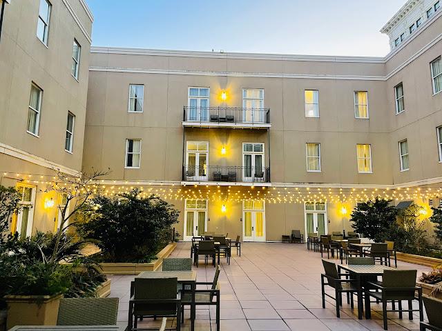 Hyatt Centric French Quarter New Orleans Courtyard
