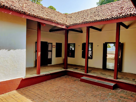 Boots and Butter: Sabarmati Ashram.. Finding solace in Gandhi's ideologies