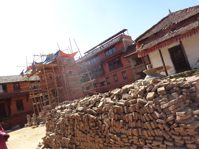 Temples Damaged in Nepal Earthquake