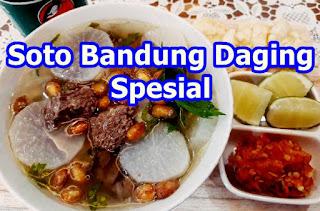 Resep Soto Bandung Daging