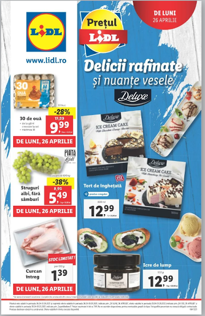 LIDL catalog brosura    26.04 - 01.05 2021