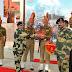 सीमा सुरक्षा बल पश्चिमी कमान के अतिरिक्त महानिदेशक  ने भारत-पाक सीमा का जायजा लिया
