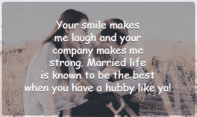 love messages for hubby