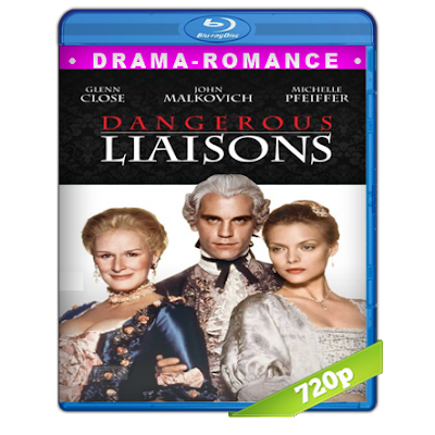 Relaciones Peligrosas (1988) BRRip 720p Audio Trial Latino-Castellano-Ingles 5.1