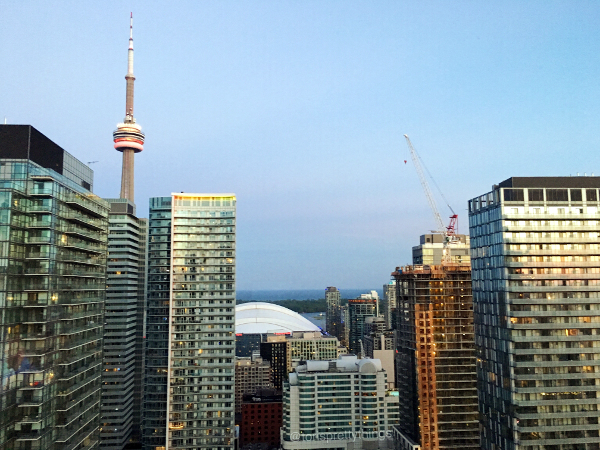 Downtown Toronto at sunset  - Tori's Pretty Things Blog