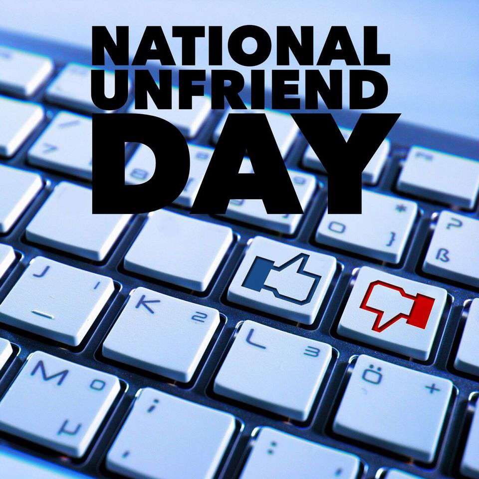 National Unfriend Day Wishes Unique Image