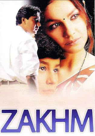 Watch Online Bollywood Movie Zakhm 1998 300MB HDRip 480P Full Hindi Film Free Download At WorldFree4u.Com