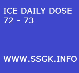 ICE DAILY DOSE 72 - 73