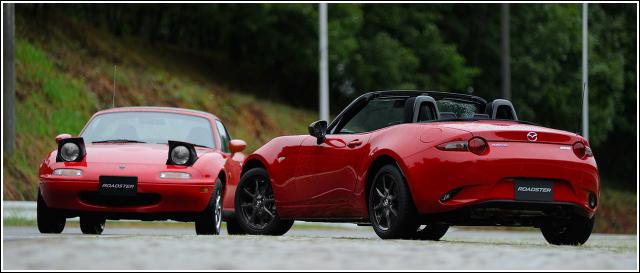 Classic Red Mazda MX-5