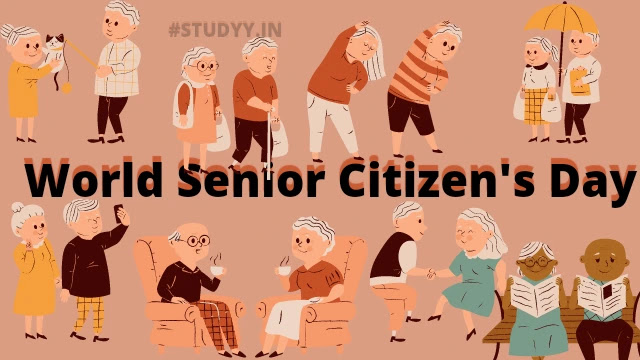 World Senior Citizen's Day