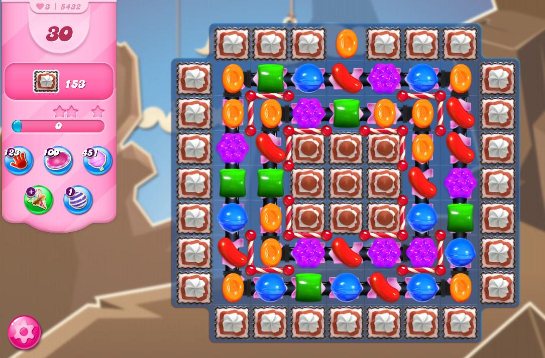 Candy Crush Saga level 5432