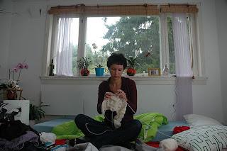 jak robić na drutach