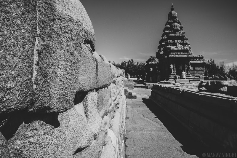 Shore Temple at Mahabalipuram - 1-Oct-2019