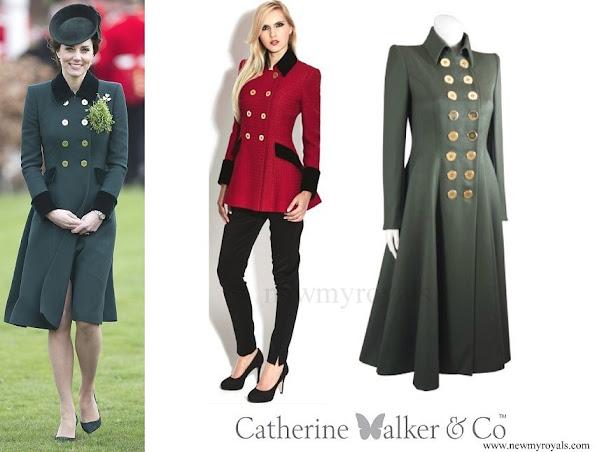 Kate Middleton wore Catherine Walker coat