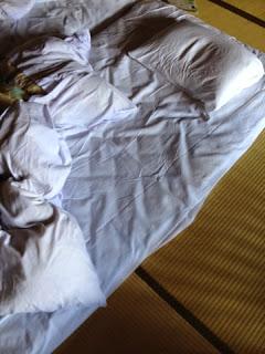 il mio futon sfatto