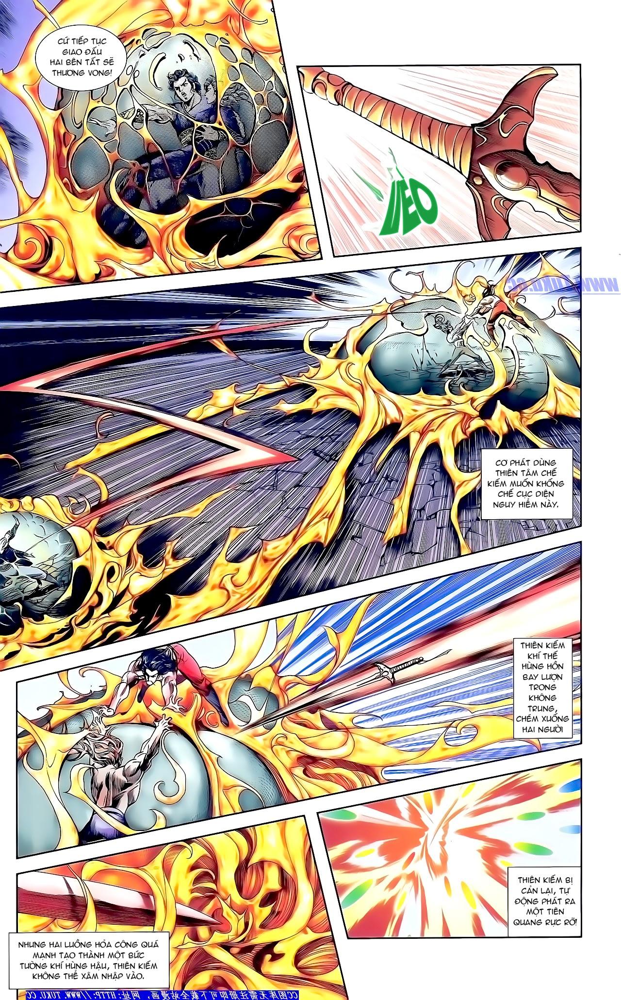 Cơ Phát Khai Chu Bản chapter 158 trang 21