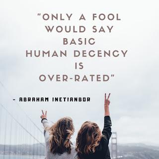 Human decency