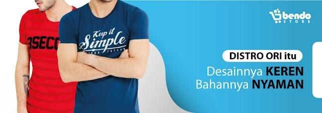 Bendostore.com - Situs Belanja Online Baju Distro Terbaik Dengan Harga Bersahabat