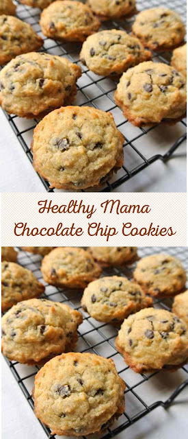 Healthy Mama Chocolate Chip Cookies