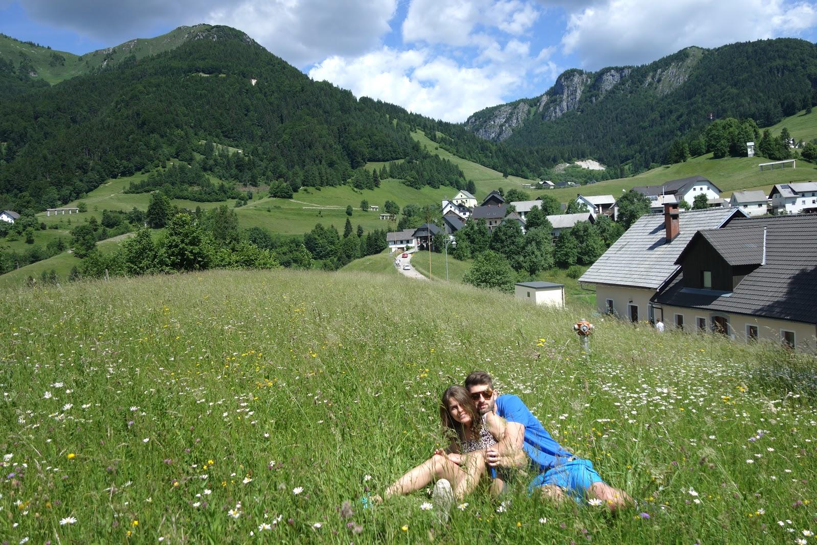 Słowenia jeziora Bohinj i Bled