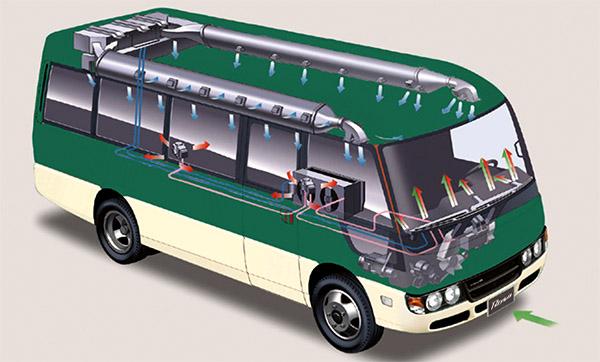 Body xe khách 29 chỗ Thaco Fuso tại Hải Phòng vững chắc, an toàn