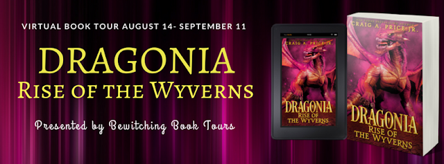 Interview with Craig A. Price Jr., author of Dragonia: Rise Of The Wyverns