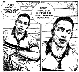 Bim Bom, historias de lucha de Infante y Quer, edita Diábolo Comics, cuba chaperos,