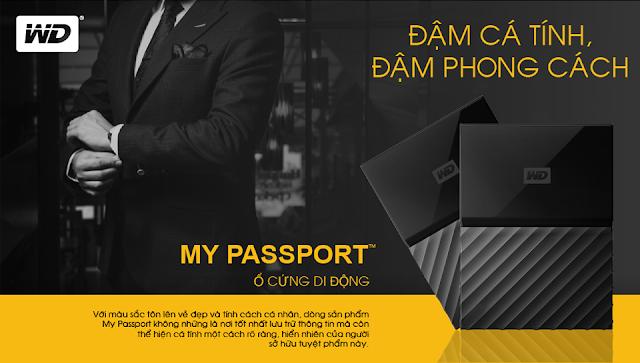 Mua My Passport nhận quà hấp dẫn từ WD