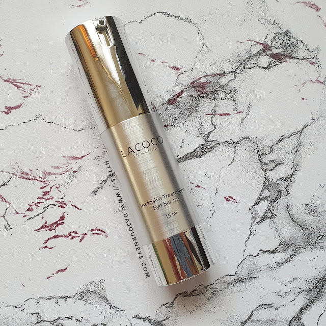 Review Lacoco Intensive Treatment Eye Serum