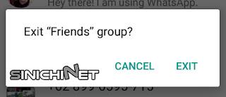 blokir whatsapp, cara blokir whatsapp, blokir grup whatsapp, cara blokir grup whatsapp, whatsapp, keluar grup WA, tips, trik, cara mudah, android, apk, smartphone