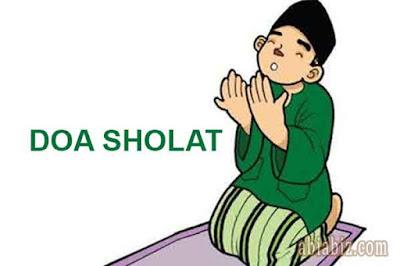 bacaan doa sholat