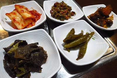 Ko Ryo Jeong Korean Restaurant, banchan