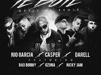 Te Bote - Casper, Nio García, Darell, Nicky Jam, Bad Bunny, Ozuna