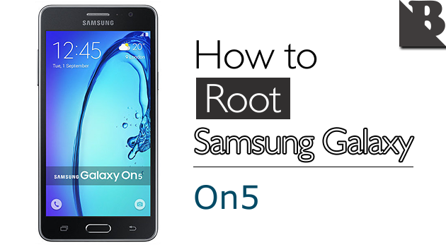 How To Root Samsung Galaxy On5 SM-G550 And Install TWRP Recovery