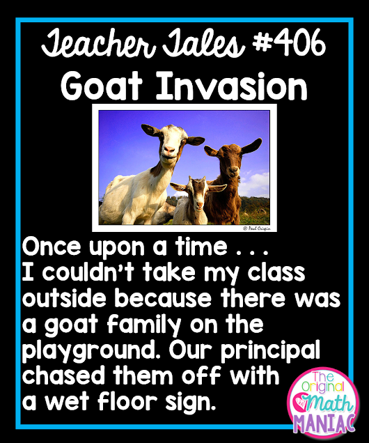 Teacher Tales: Goat Invasion