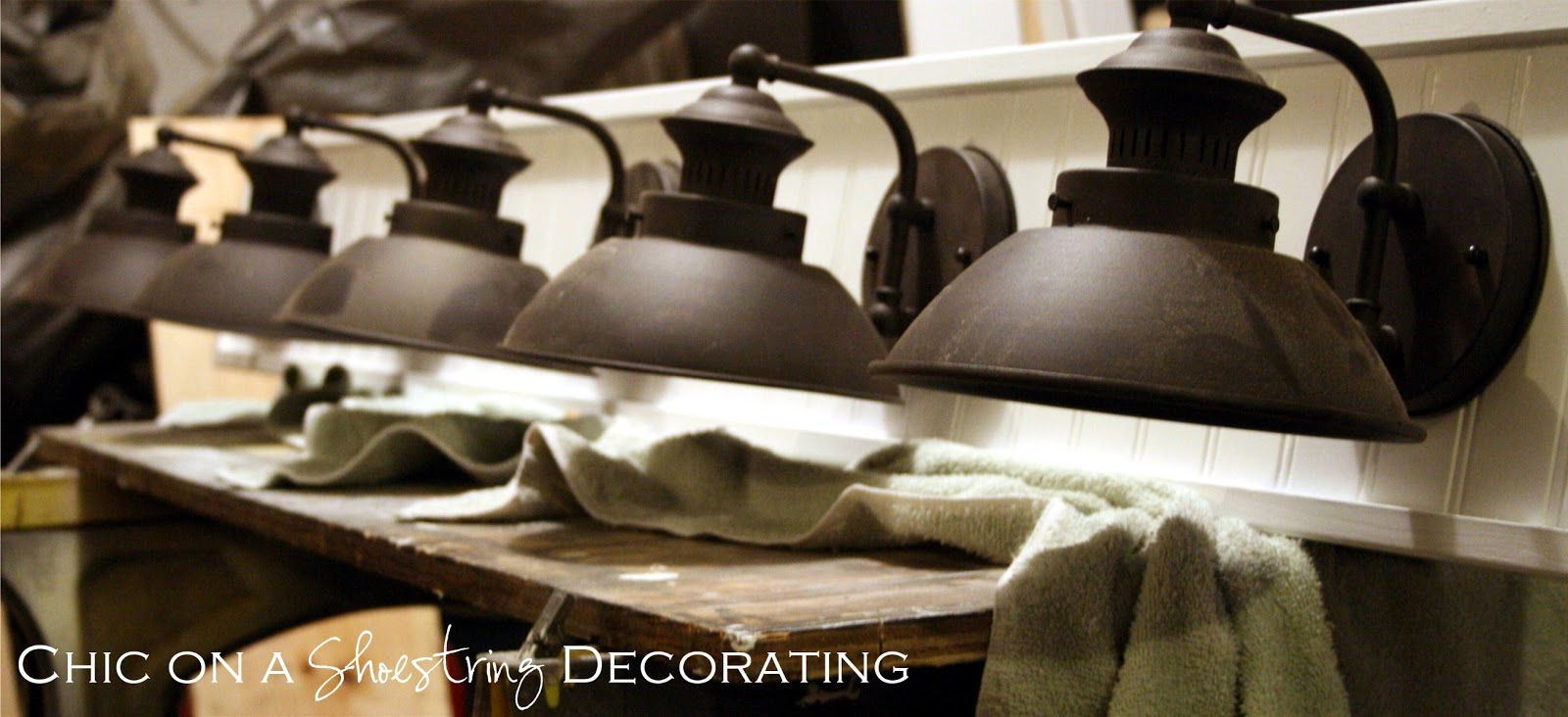 Chic On A Shoestring Decorating How To Build A Bathroom