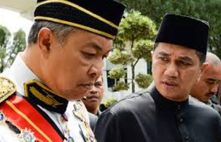 Image result for images of azmin and zahid hamidi