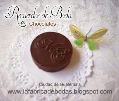 venta recuerdos para Boda 15 bautizo chocolates monograma
