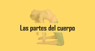 Partes do corpo em espanhol