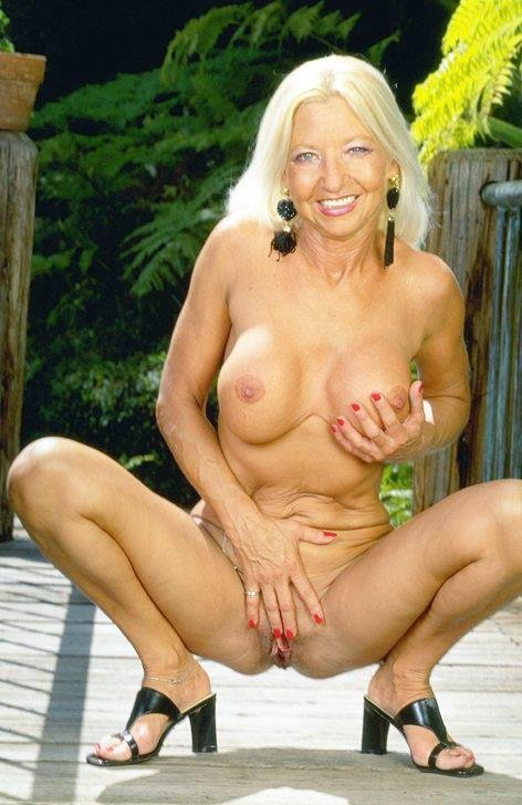 Naked Older Women Outdoors