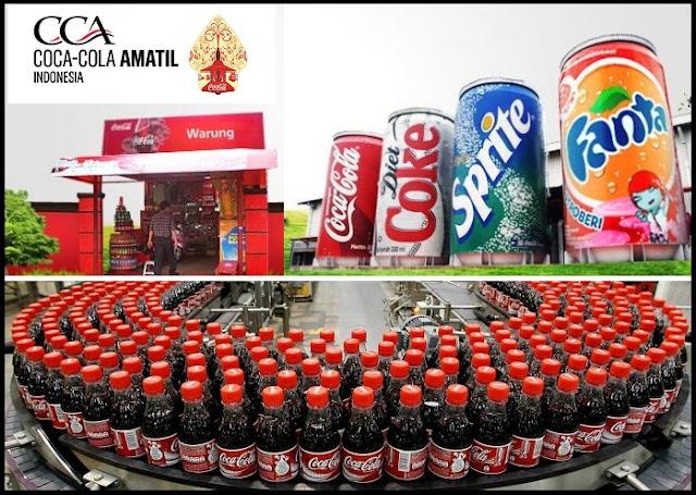 Lowongan Kerja PT Coca-Cola Amatil Indonesia (CCAI) Lulusan SMA, Diploma, Sarjana, Dengan Posisi Production Operator, Etc Terbaru 2019
