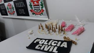 POLICIA CIVIL DE CANANEIA REALIZA OPERAÇÃO CONTRA O TRÁFICO DE DROGAS