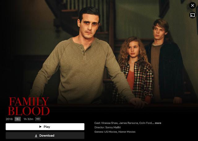 Horror Vampire Family