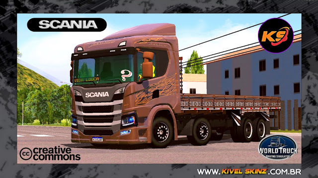 SCANIA P320 - BLACK AMBER EDITION