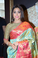 Shriya Saran Looks Stunning in Silk Saree at VRK Silk Showroom Launch Secundrabad ~  Exclusive 094.JPG